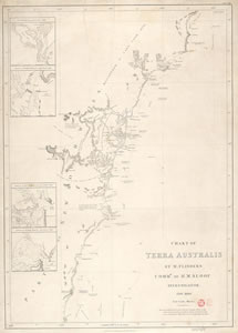 Printed chart of Terra Australis (East Coast, Sheet I)